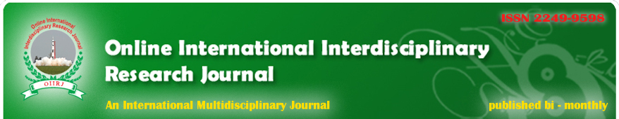 Online International Interdisciplinary Research Journal