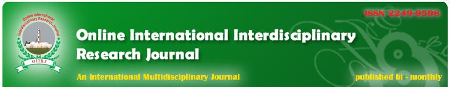Online International Interdisciplinary Research Journal